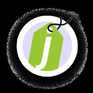 Página de inicio del logotipo de jumpseller