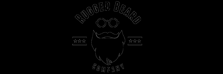 logótipo de barba rugosa