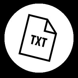 alimentação de dados txt