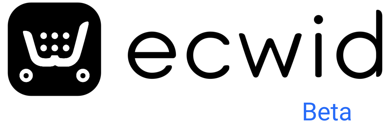 Ecwid logo beta