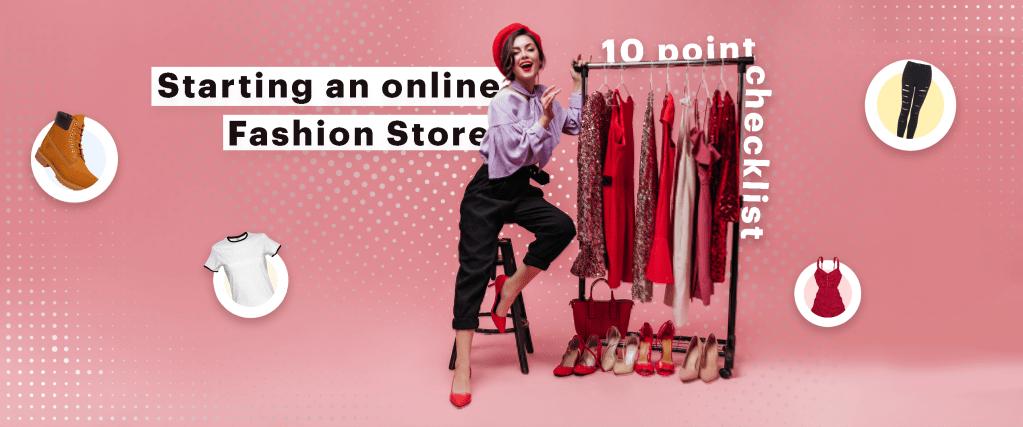 starting online fashion store checklist