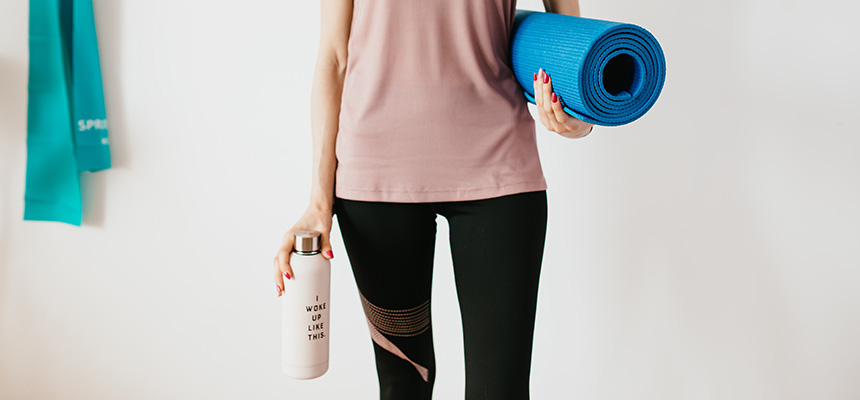 Activewear and yoga products