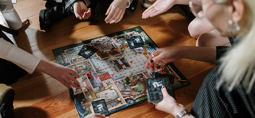 Board games, puzzles