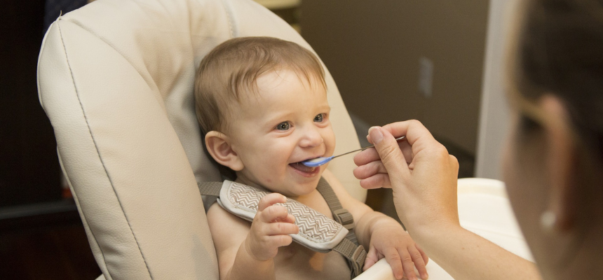 Baby food as mother and kids products