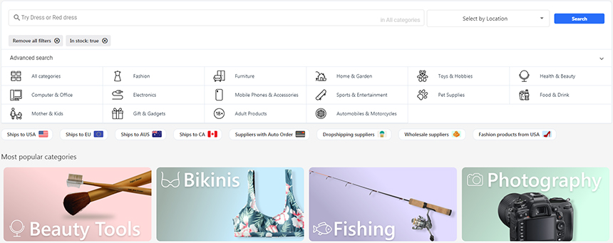 Dropshipping Suppliers from Canada