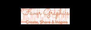 favor graphics logo